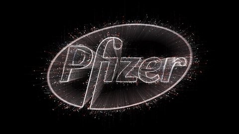 Aug 17,2019:4k pfizer word company brand logo tag cloud,binary computer  code the matrix binary text design animation,changing from zero to one  digits,abstract tech background