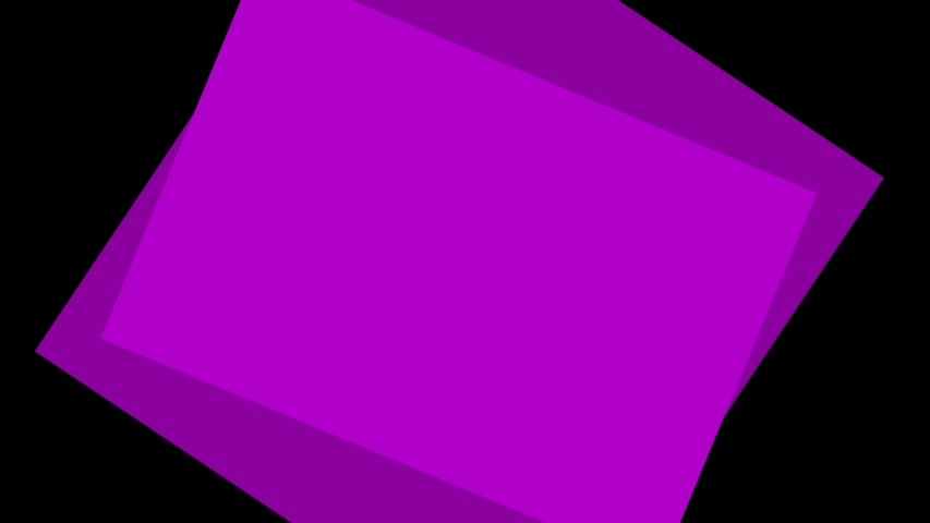 Ultra HD 4k video of Concentric cartoon square transition animation on a black png background. | Shutterstock HD Video #1035543971