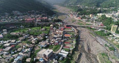 Kashmir Bagh City Valley view