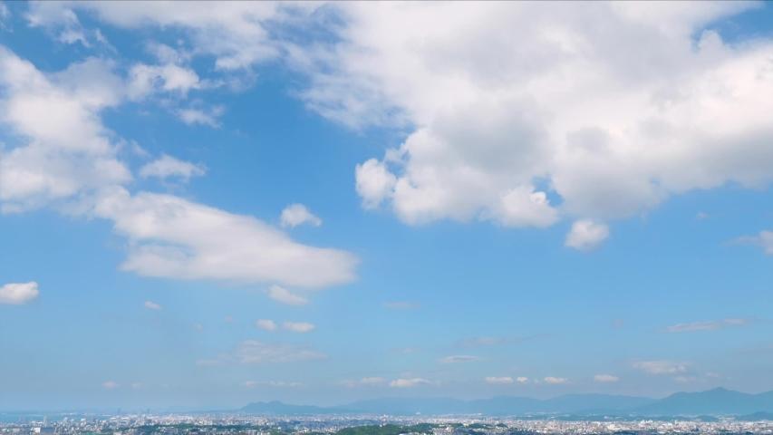 landscape of Fukuoka city in Japan #1036818521
