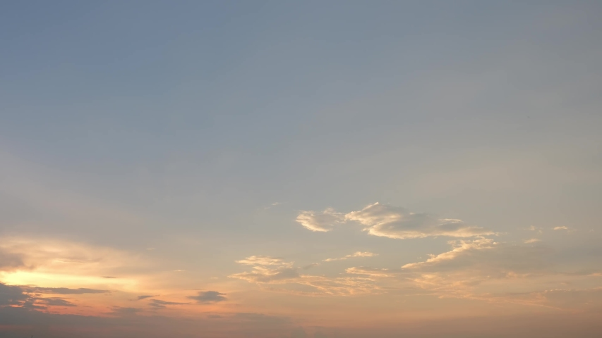 4K Time lapse, beautiful sky with clouds background, Sky with clouds weather nature cloud blue, Blue sky with clouds and sun, Clouds At Sunrise.   Shutterstock HD Video #1037348171