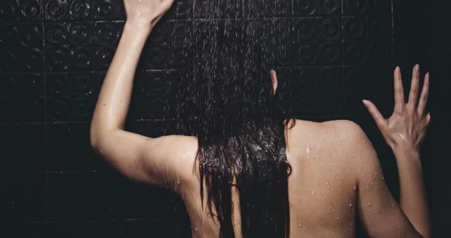 wet girl is getting penetrated after taking shower  408179