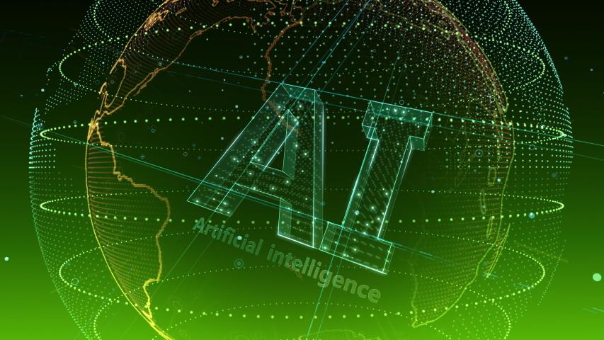 AI, artificial intelligence digital network technologies concepts Background. | Shutterstock HD Video #1038901631