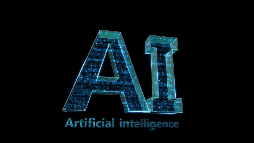 AI, artificial intelligence digital network technologies concepts Background. | Shutterstock HD Video #1038901691