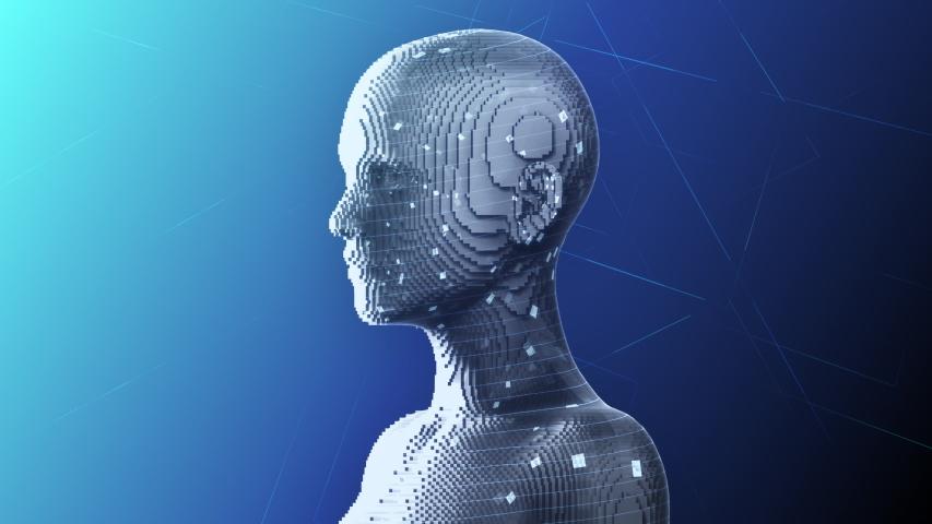AI, artificial intelligence digital network technologies concepts Background. | Shutterstock HD Video #1038901721