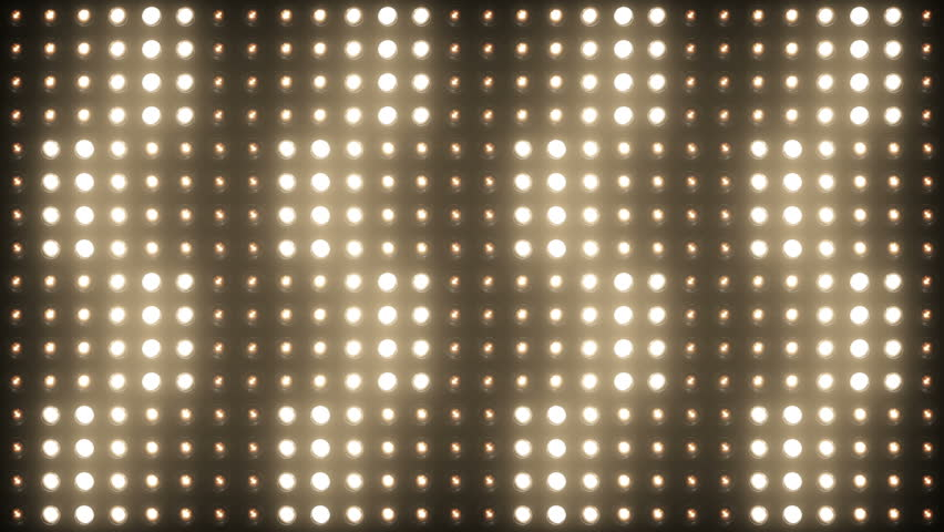 Flashing Lights Spotlight Bulb Flood lights Vj Led Wall Stage Led Display Blinking Lights Motion Graphics Background Backdrop 4K Ultra HD | Shutterstock HD Video #10391636