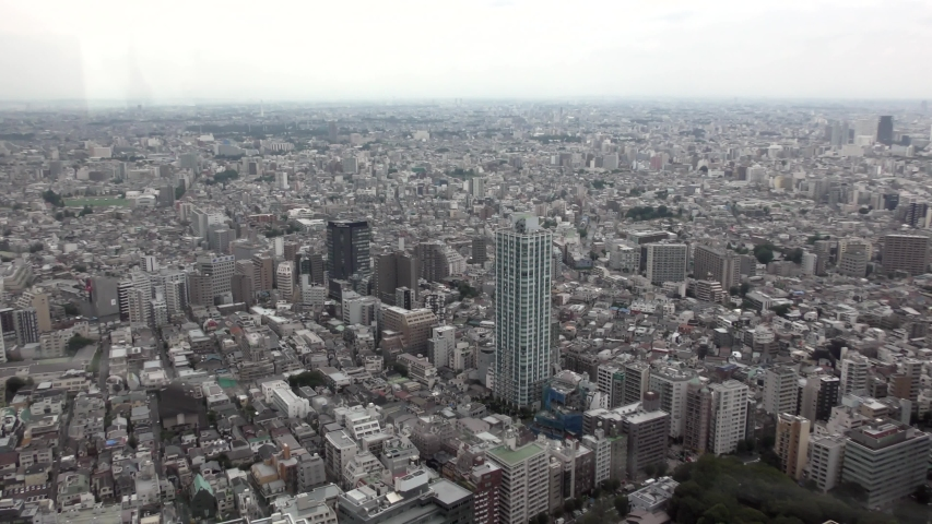 Japan. Tokyo city sky view. 2019 | Shutterstock HD Video #1040503811