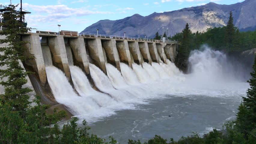 Hydro water dam