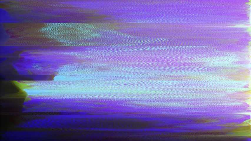 Pixelated purple background animated damaged screen, LOOP | Shutterstock HD Video #1041059531