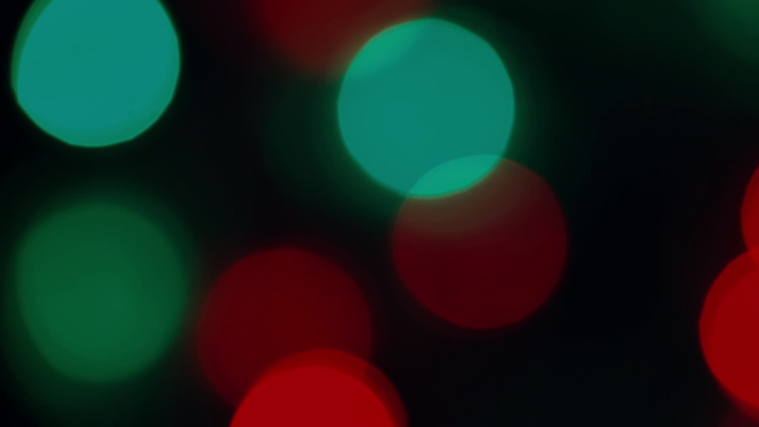 Blinking christmas lights on black background | Shutterstock HD Video #1041165181