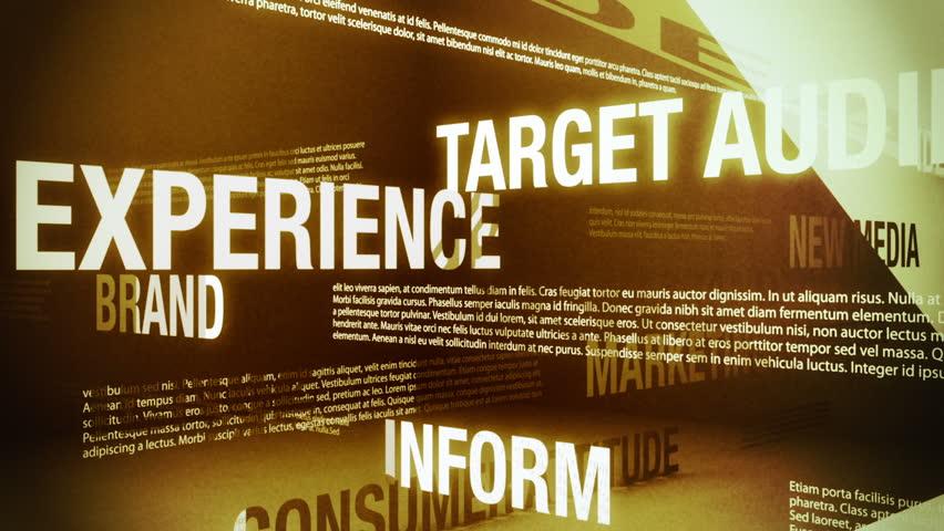 Advertising Related Words Background Loop | Shutterstock HD Video #1041889