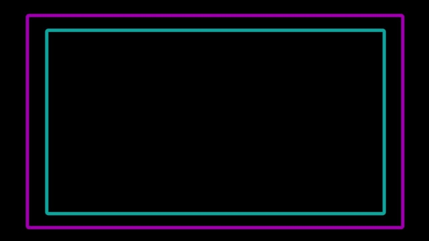 Popular Abstract Seamless Background Blue Purple Spectrum Looped Animation Fluorescent Ultraviolet Light HD Glowing Neon Line.