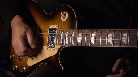 Electric Guitar Wallpaper Stock Video