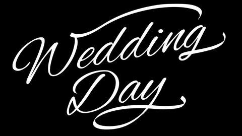 Dream Wedding Invitation Stock Video Footage 4k And Hd Video
