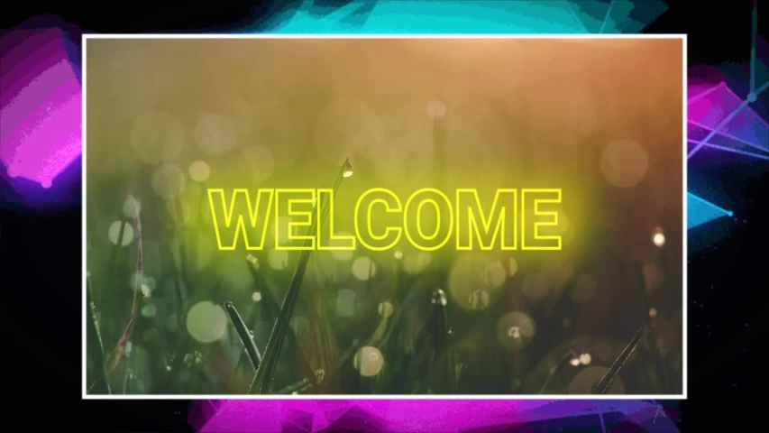 Welcome word greeting style animation | Shutterstock HD Video #1046446381