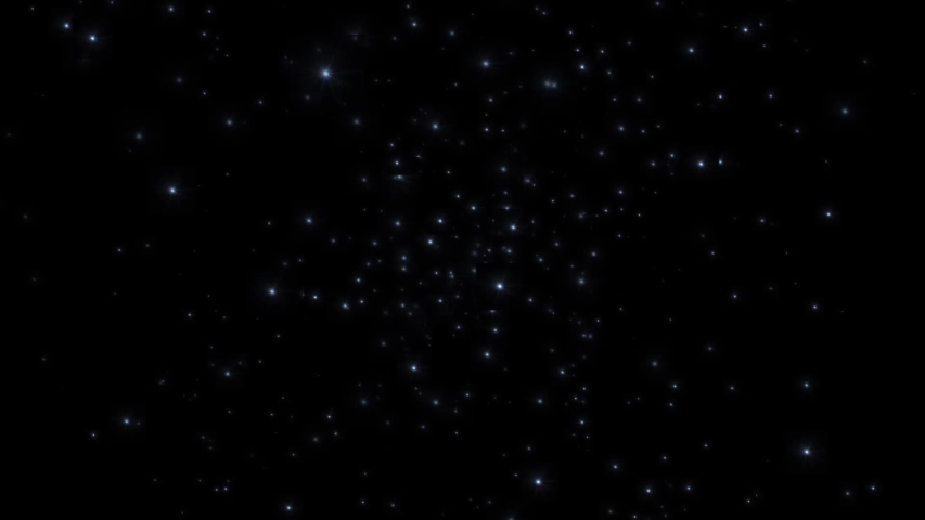 Night starry skies with twinkling or blinking stars motion background. Looping seamless space backdrop (alpha background) transparant | Shutterstock HD Video #1046534821