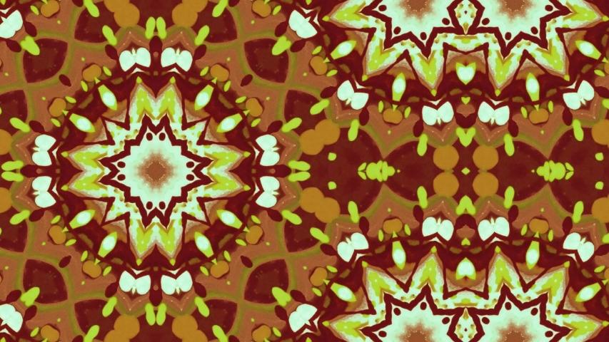 Poly Art Kaleidoscope Hypnotic Pattern Animation Footage   Shutterstock HD Video #1046948371