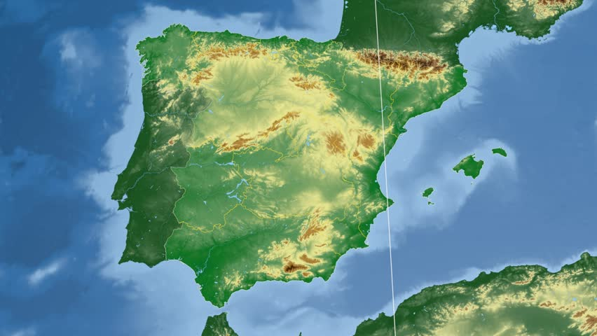 Map Of Spain Navarra.Comunidad Foral De Navarra Autonomous Stock Footage Video 100 Royalty Free 10533341 Shutterstock