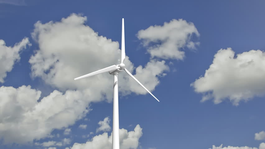 Animated Wind Turbine  3d Model Stock Footage Video (100% Royalty-free)  10536581 | Shutterstock