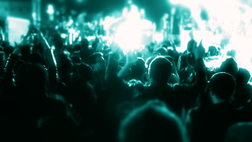 Concert people  | Shutterstock HD Video #10574861