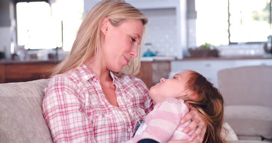 Mother And Daughter Playing On Stock Footage Video  Royalty Free  Shutterstock