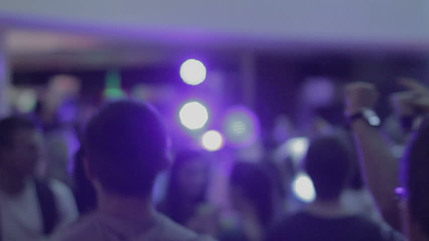 Guys dancing, moving to music, waving hands, having fun at party | Shutterstock HD Video #10614131
