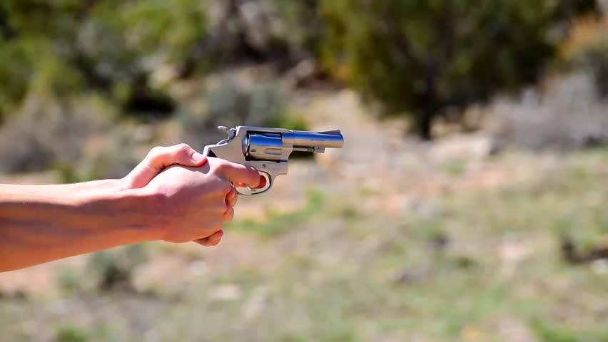Side View of a Gun, Stock Footage Video (100% Royalty-free) 10644611    Shutterstock