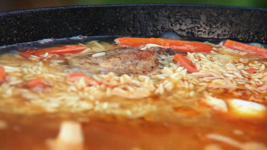 Stock video clip of pilaf afghan uzbek tajik national cuisine dish stock video clip of pilaf afghan uzbek tajik national cuisine dish shutterstock forumfinder Choice Image