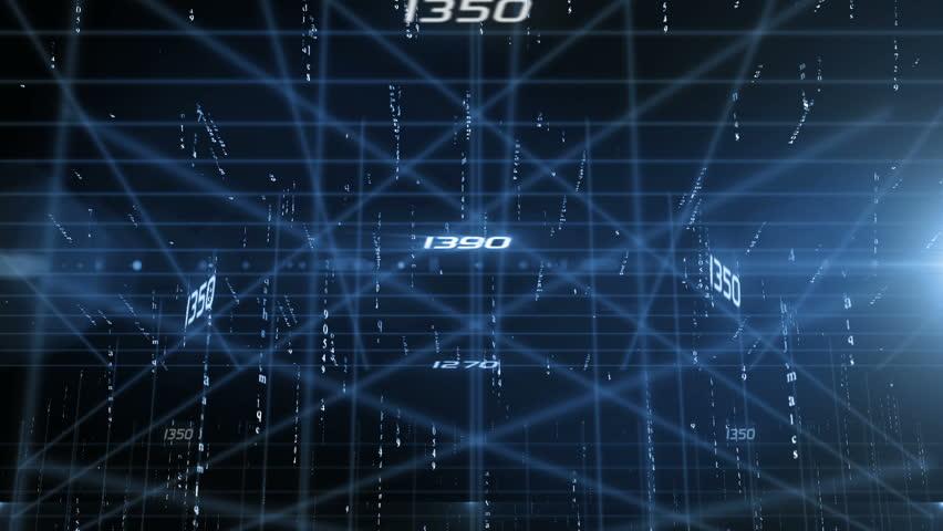 Matrix text digital data | Shutterstock HD Video #10788101