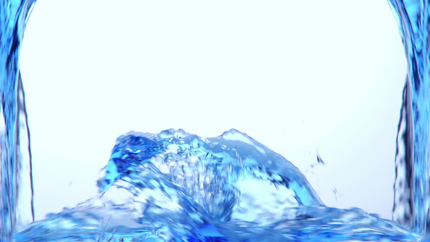 blue water Filling the screen + Alpha Channel (for compositing) Simulated and rendered with very high detail for FullHD