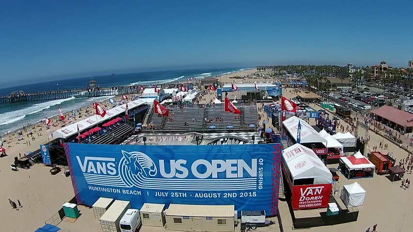 Vans Us Open Of Surfing Stock Video Footage 4k And Hd Clips Shutterstock