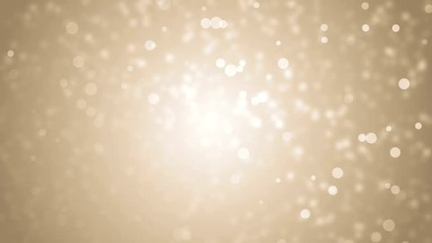 Lights gold bokeh background. High Definition abstract motion backgrounds ideal for editing. VJ Elegant abstract. Christmas Animated Background. loop able abstract background circles.