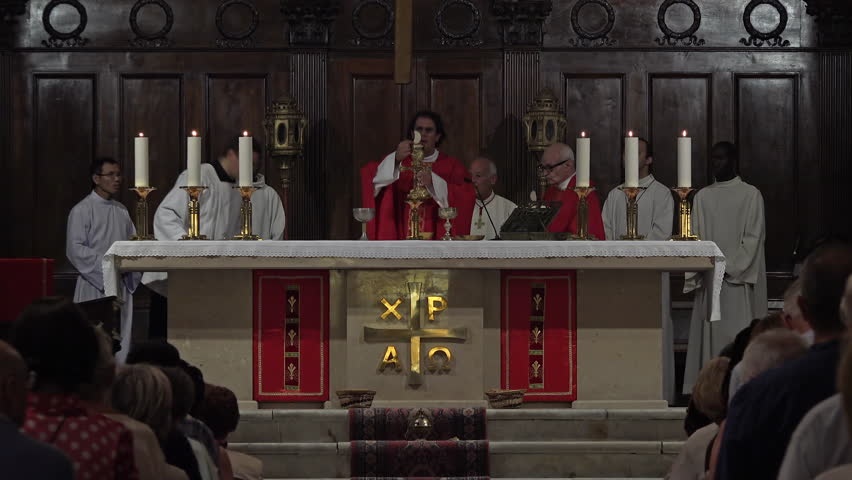 Header of sacramental