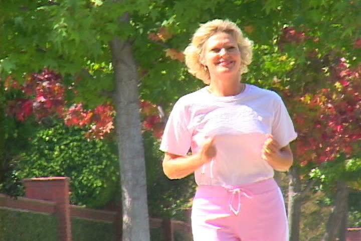 Woman speed walking | Shutterstock HD Video #1101322