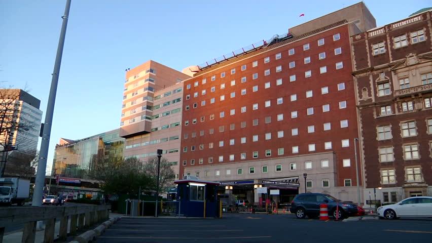 Hospital Building Exterior.