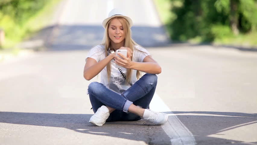 Happy Young Woman with Vintage Stock Footage Video (100% Royalty-free)  11063381 | Shutterstock