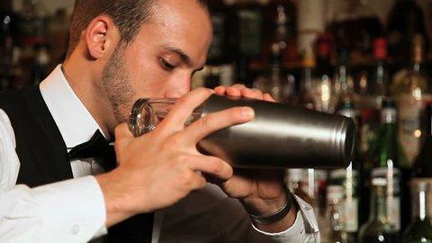 Shaking Cocktail
