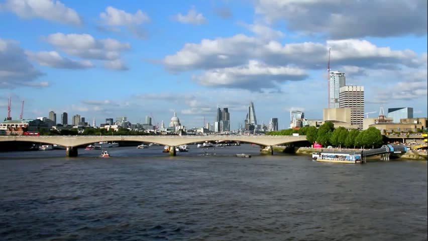 City Of London In Late Stock Footage Video 100 Royalty Free 11254511 Shutterstock
