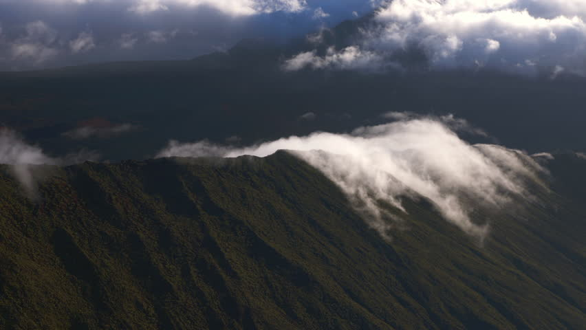 Stock video of an aerial shot of the haleakala 11264741 shutterstock publicscrutiny Gallery