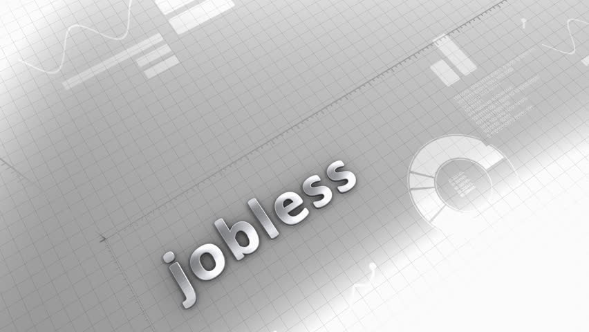 Computer generated, Jobless growing chart. | Shutterstock HD Video #11320817