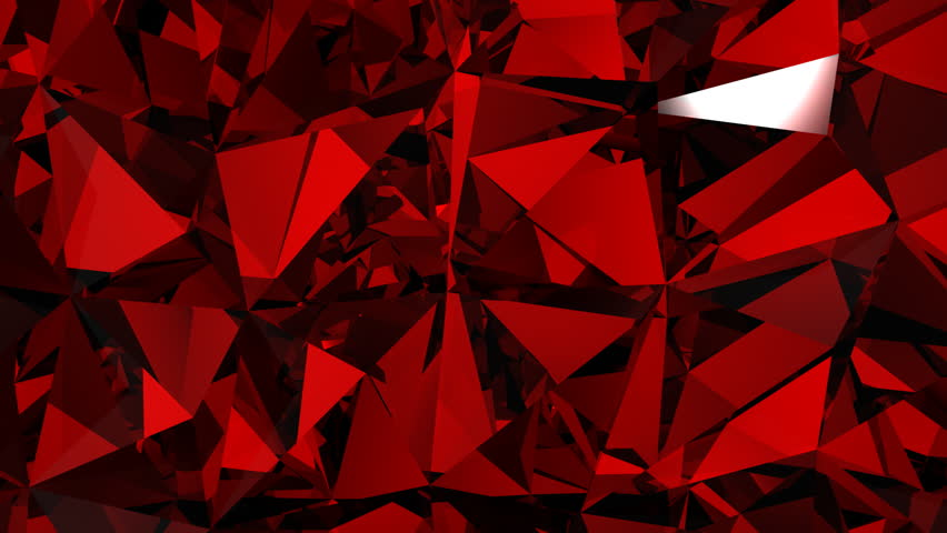 Red diamonds background, spinning with flares. HD 1080. Loop. | Shutterstock HD Video #1141231