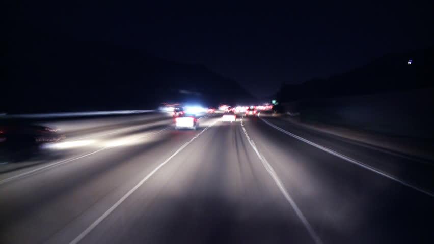Big City Night Driving | Shutterstock HD Video #1142731