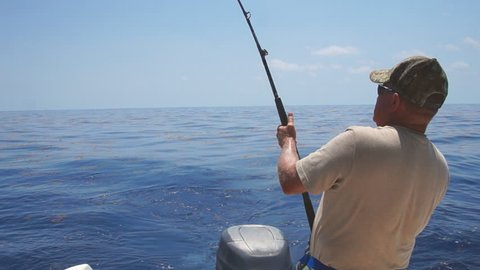 Saltwater fishing in Florida Keys