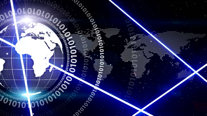 Digital world , global technology ( Series 9 + Version from 1 to 12 ) | Shutterstock HD Video #11604947