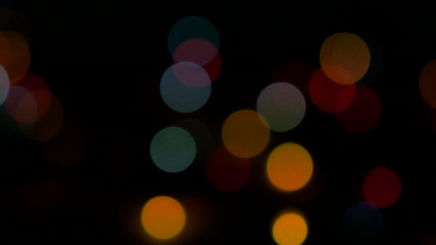 Multi Color Dot Lights Stock Footage