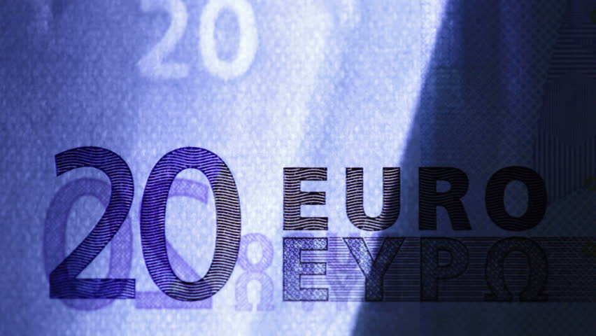 Close up of scanning 20 euro | Shutterstock HD Video #1170301