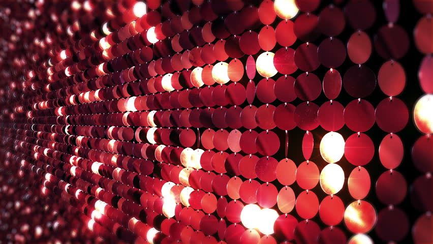 Sequins reflective background. Red, golden and blue. Sparkling. 3 videos in 1 file. Loopable. More options in my portfolio.