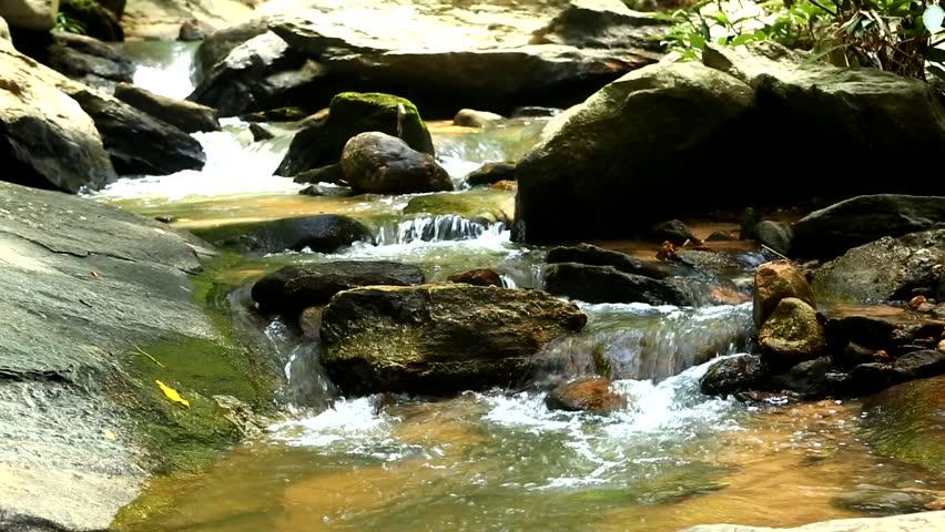 Tadmok Waterfall Chiangmai Thailand