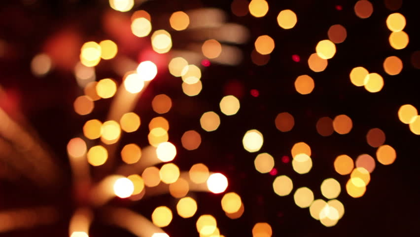 Great blurred fireworks background at night. | Shutterstock HD Video #11810108