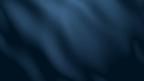 4k Dark Blue Fabric Wave Animation Background Seamless Loop.